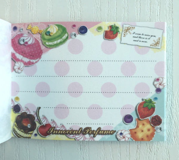 Innocent Perfume mini Memo Pad by Mindwave from Japan - CharmTape - 3