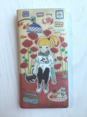 Sweet Melody Lilly - card case wallet from Jetoy Korea - CharmTape - 1