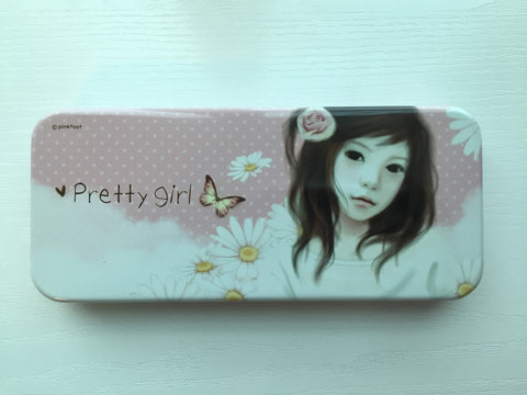 Pretty Girl - pencil pen case from Pinkfoot Korea - CharmTape - 1