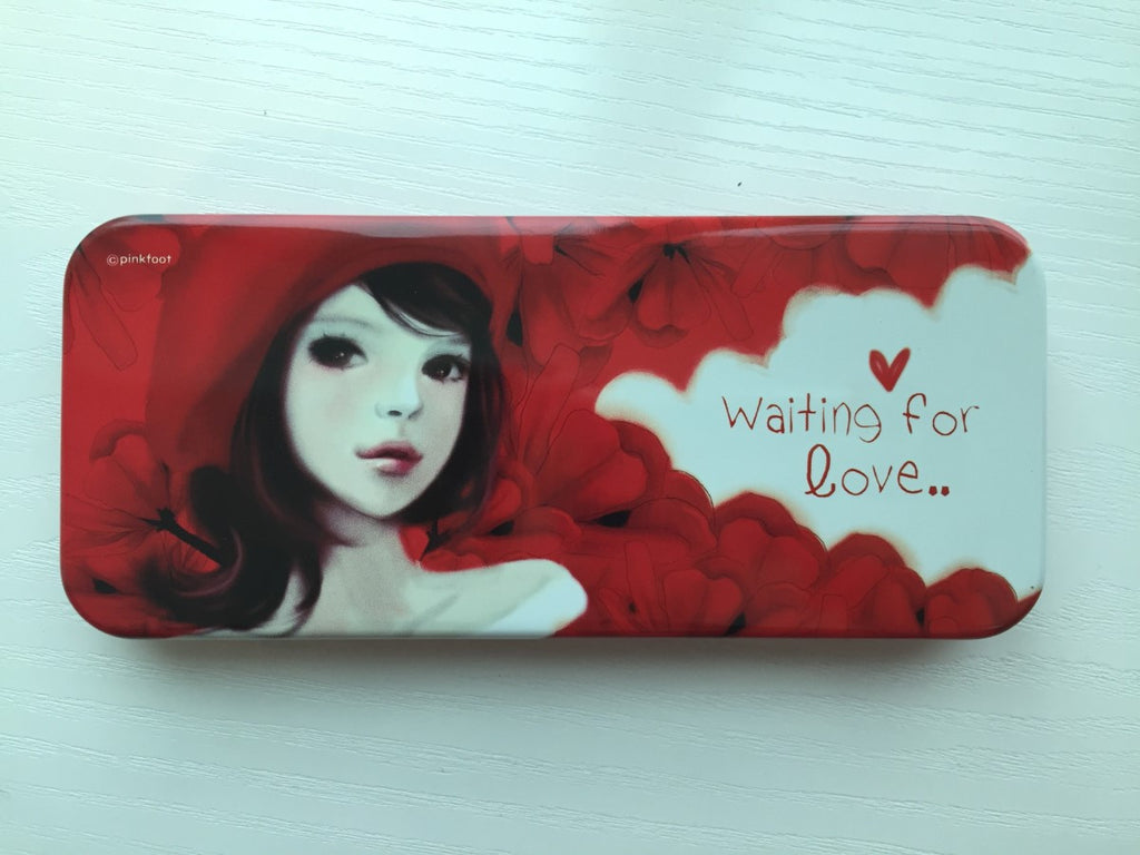 Waiting for Love - pencil pen case from Pinkfoot Korea - CharmTape - 1