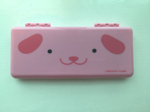 Pink Dog - pencil pen case - CharmTape - 1