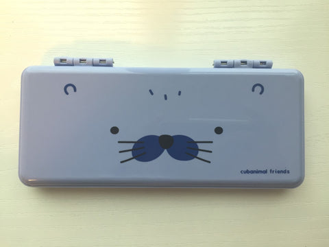 Purple Seal - pencil pen case - CharmTape - 1