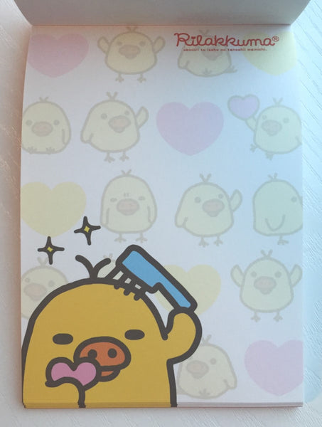 Rilakkuma Bear Big Memo Pad by San-x from Japan - CharmTape - 6