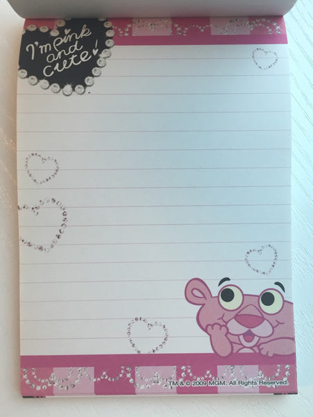 Pink Panther & Pal Big Memo Pad by Sun-star from Japan - CharmTape - 3
