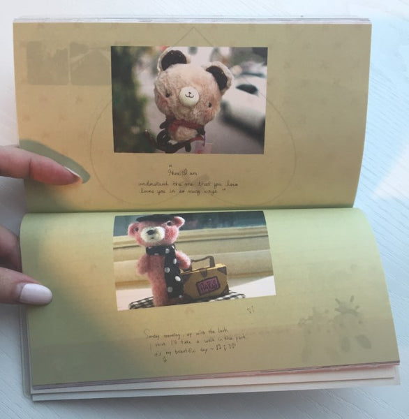 Copy of Sad Teddy Bear Daily Planner Scheduler - Undated Journal - CharmTape - 7