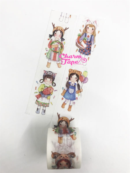 Cosplay Girl Washi Tape (30mm x 5m) WT999