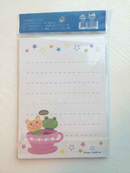 Writing paper and envelopes set - Happy Days from Taiwan - CharmTape - 2