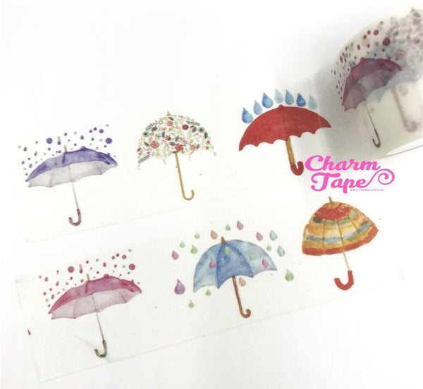 Umbrella Washi Tape (30mm x 5m) WT1017