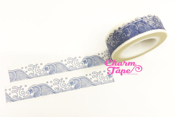 Wave Washi Tape 15mm x 10m WT1042