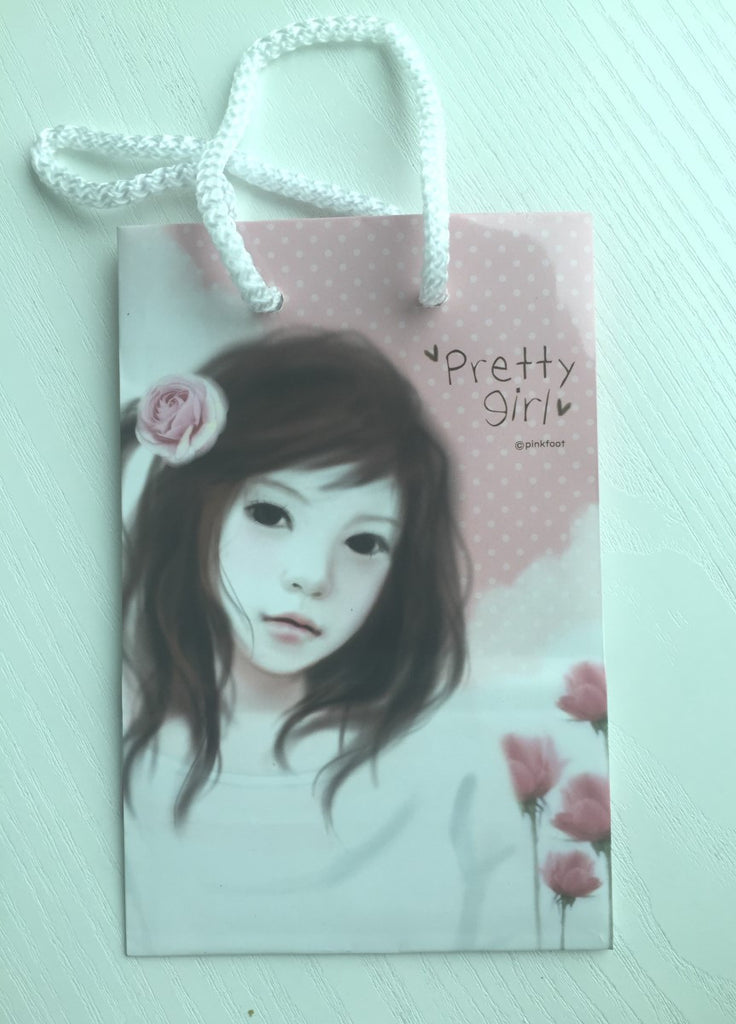 Pinkfoot Pretty Girl Paper Bag - Pretty Girl - CharmTape - 1