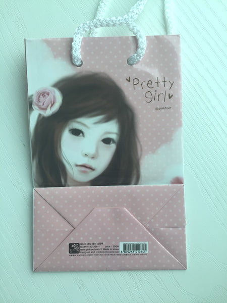 Pinkfoot Pretty Girl Paper Bag - Pretty Girl - CharmTape - 2