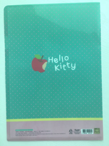 Sanrio Hello Kitty A4 plastic file folder - CharmTape - 2