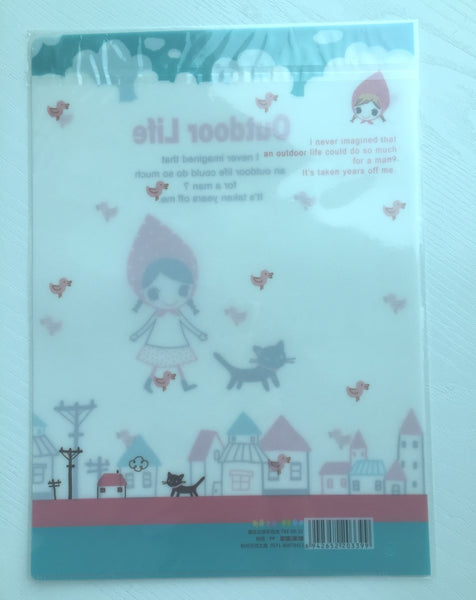 Pura Girl A4 plastic file folder - CharmTape - 2