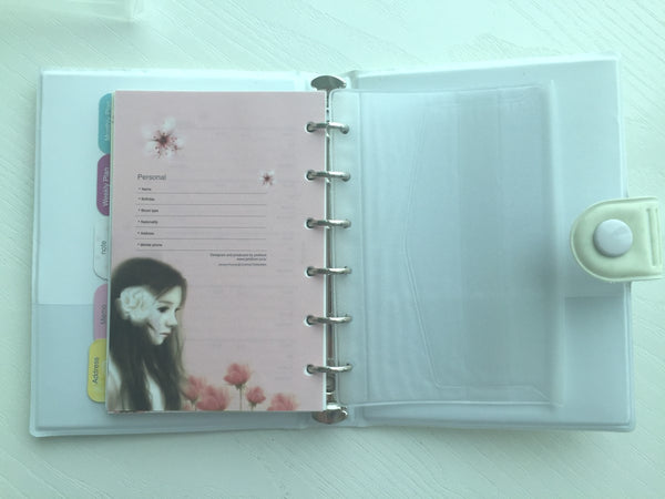 Girl's Romance Filofax Daily Planner Scheduler from Pinkfoot Korea - CharmTape - 7