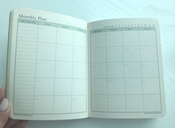 Undated Daily Planner Journal Scheduler by invite.L from Korea - CharmTape - 3