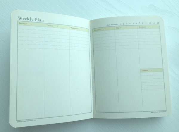 Undated Daily Planner Journal Scheduler by invite.L from Korea - CharmTape - 4