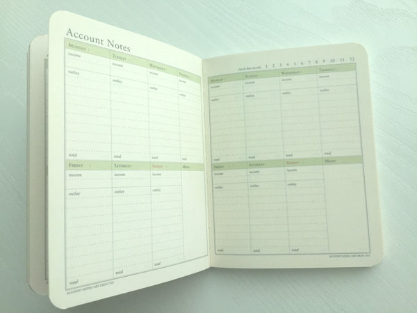 Undated Daily Planner Journal Scheduler by invite.L from Korea - CharmTape - 5