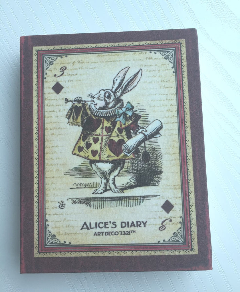Alice in Wonderland Daily Planner Scheduler from Korea - CharmTape - 1