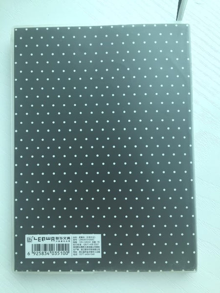 Girl Daily Planner Scheduler - in Black - CharmTape - 2