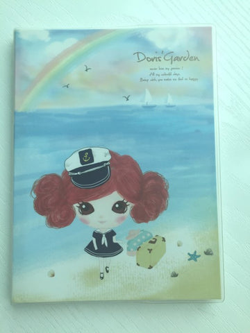 Sailor Doris's Garden - Memo Note Book - CharmTape - 1