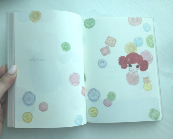 Copy of I don't know - Memo Note Book from Pinkfoot Korea - CharmTape - 3