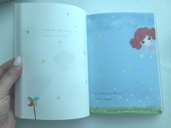 Copy of Sailor Doris's Garden - Memo Note Book - CharmTape - 4