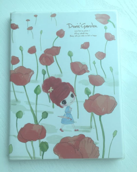 Poppy Field Doris's Garden - Memo Note Book - CharmTape - 1