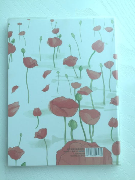 Poppy Field Doris's Garden - Memo Note Book - CharmTape - 8