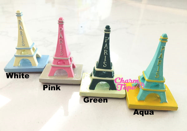 Paris Eiffel Tower Stamp Set - Resin Stamp - Rubber Stamp - Diary Stamp 4 styles can choose RS32