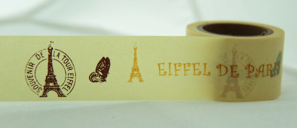 In Love with Paris Big Washi Masking Tape 30mm WT857 - CharmTape - 4
