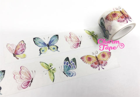 Butterfly Washi Tape 30mm x 5m WT1034