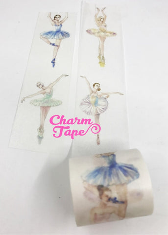 Ballet Dancer Washi Tape Super-Wide 40mm x 5m WT1046