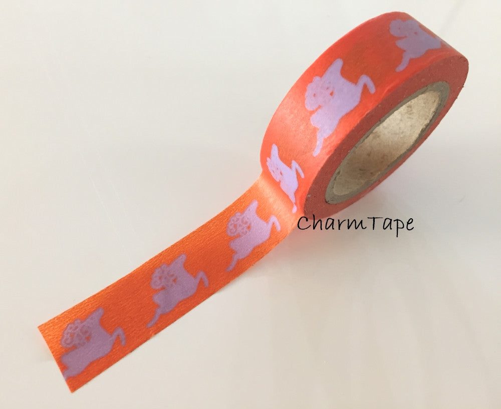 Christmas Reindeer Rudolph Washi Tape 15mm x 11yards WT245