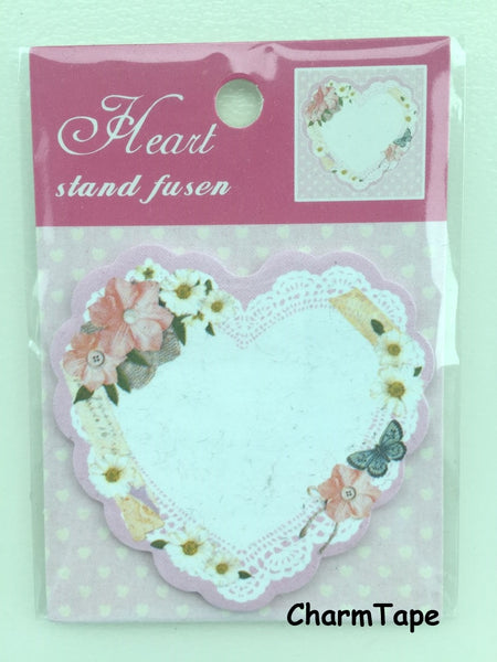 Copy of Eiffel Tower & heart Sticky Post It Memo Note Pad 20 sheets SS372 - CharmTape