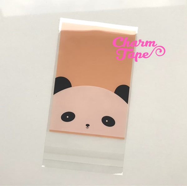 20/50/100 bags Panda Bear Gift Bags Cello Bags Self-adhesive Cookie bags - Favors Bags - Party bags CB1