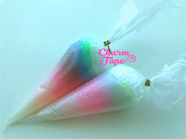 Rainbow Galaxy Jelly Whip Deco Cream - 50 gram (Free 1 tip) Fake Frosting