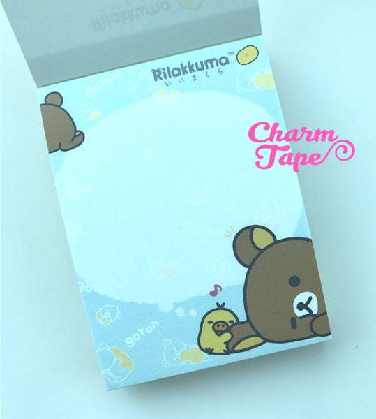 Rilakkuma Bear mini Memo Pad by San-x from Japan