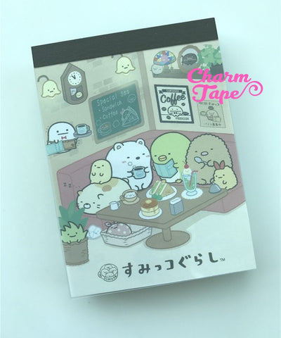 Sumikko Gurashi mini Memo Pad by San-x from Japan