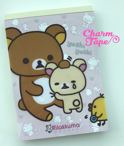 Rilakkuma Bear Big Memo Pad by San-x from Japan