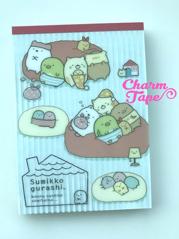 Sumikko Gurashi Big Memo Pad by San-x from Japan