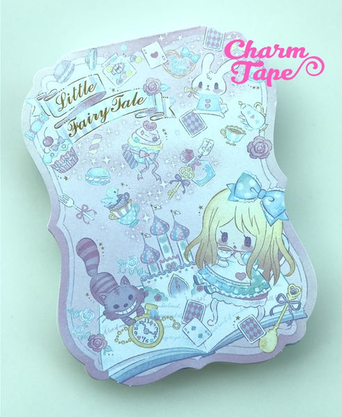Alice in Wonderland Big Memo Pad by Qlia from Japan