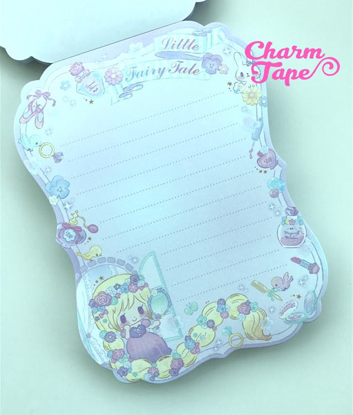 Rapunzel Big Memo Pad by Qlia from Japan