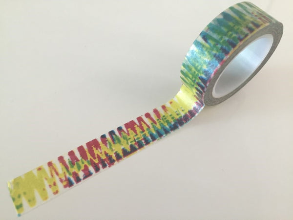 Tie dye - Washi tape - 15 mm Wide - 10 meters  WT785 - CharmTape - 2