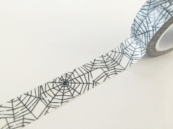 Spider Web Washi tape - 15 mm Wide - 10 meters  WT769 - CharmTape - 2