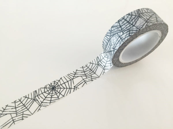 Spider Web Washi tape - 15 mm Wide - 10 meters  WT769 - CharmTape - 3