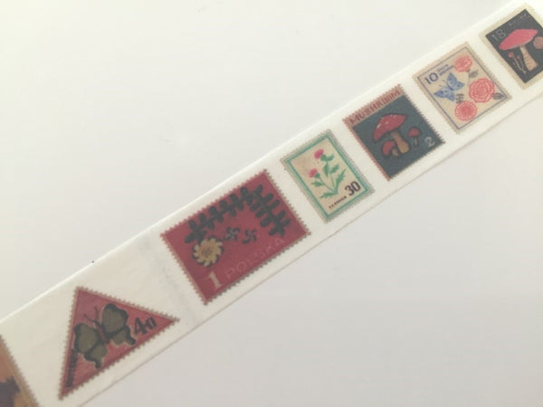 Poland Postal Stamp - Washi Tape 10 meters WT827 - CharmTape - 3