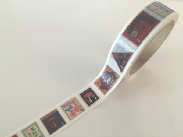 Poland Postal Stamp - Washi Tape 10 meters WT827 - CharmTape - 1