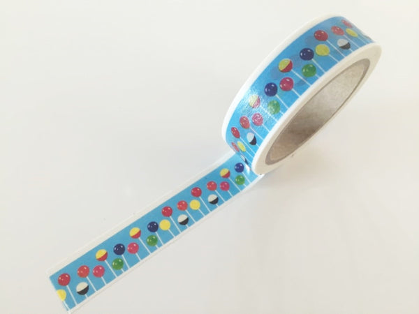 Lollipop candy Washi Tape 8m x 15mm WT841 - CharmTape - 2
