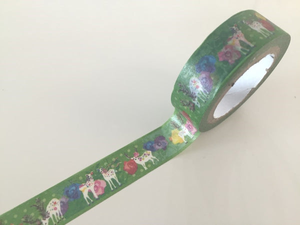 Copy of Animal & City Fantasy - Washi tape - 10 meters WT806 - CharmTape - 1
