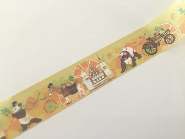 Panda Bear Fantasy - Washi tape - 10 meters WT808 - CharmTape - 3